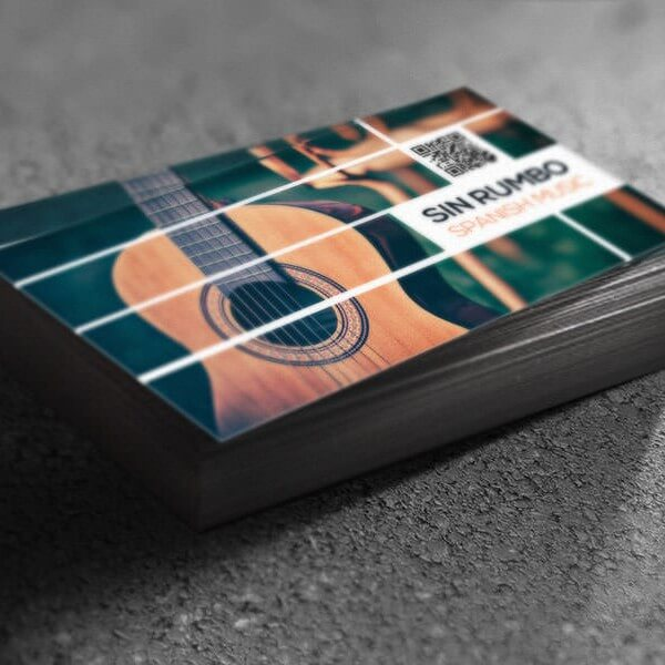 Sin Rumbo Business Card