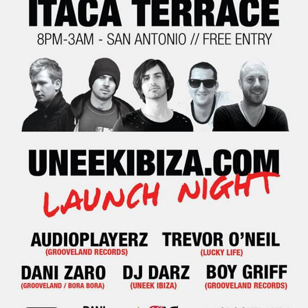 Uneek Ibiza Launch Night Poster