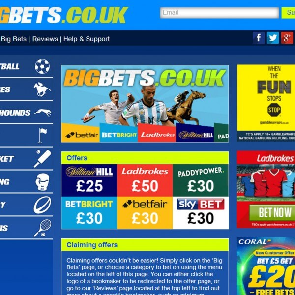 Big Bets Screenshot