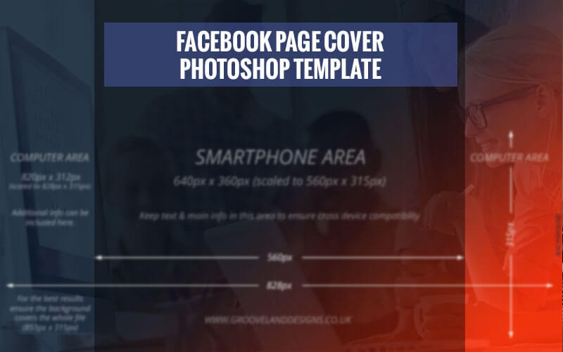 how to make facebook cover page in photoshop
