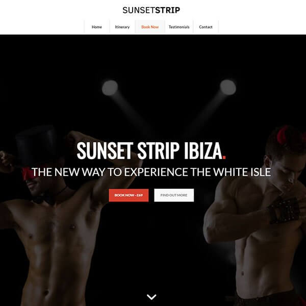 Sunset Strip Ibiza (http://www.malestripshowibiza.com)
